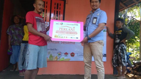 LazisMu Purbalingga Berani Rehab Rumah Rasyanto