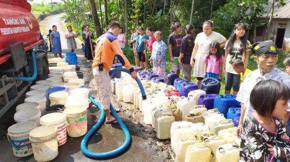 Musim Kemarau, di Purbalingga Ramai Droping Air Bersih
