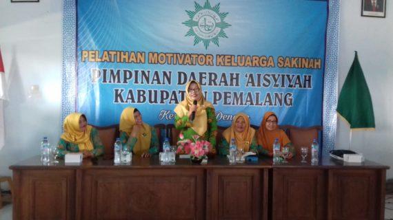 PDA Aisyiah Pemalang Gelar Seminar Membina Keluarga Sakinah