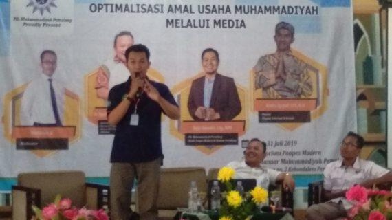 Peran Penting Media Pengembangan Amal Usaha Muhammadiyah