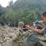 Bagaimana Jadinya Saat Anak Desa Tanalum Kompetisi Menata Batu