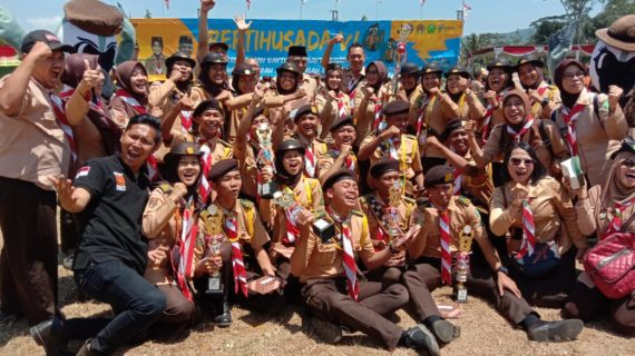 Purbalingga Juara Umum Pertihusada VI Kwarda Jateng