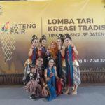 Tari Ranggawis SMA N 1 Purbalingga Juara 1 Tingkat Provinsi