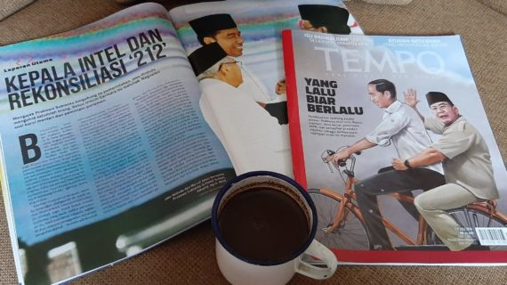 Jokowi dan Prabowo saja sudah bertemu, terus kalian kapan?