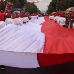 Pembentangan Bendera 74 Meter