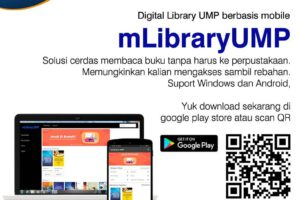 Perpustakaan Digital UMP, Baca Buku? #dirumahaja